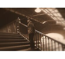 station master Photographic Print