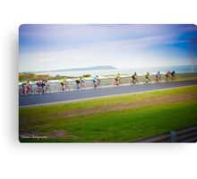 Beautiful day for a ride Canvas Print