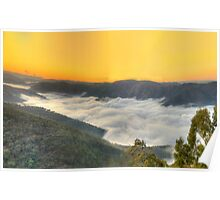 Cloud Surfing, Hill End,NSW - The HDR Experience Poster