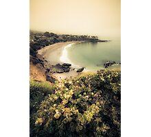 Fog landscape on Laguna Beach Photographic Print