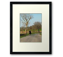 Saturday Ride Framed Print