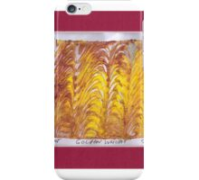 GOLDEN WHEAT iPhone Case/Skin