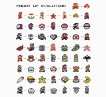 Power Up Evolution by lynchboy