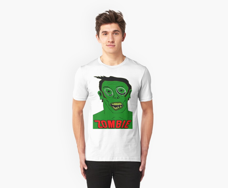 Zombie TShirt by Brian Walther