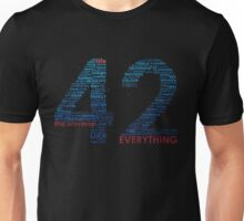 Life, The Universe, and Everything Unisex T-Shirt