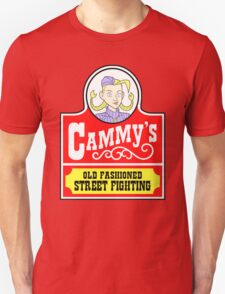 Cammy's Old Fashioned Street Fighting Unisex T-Shirt
