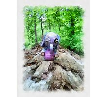 I found a Heffalump! Photographic Print
