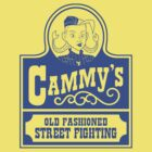 Cammy's Old Fashioned Street Fighting BLUE STENCIL by citizentang