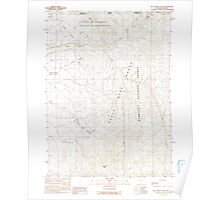 USGS Topo Map Nevada McConnell Peak 319373 1991 24000 Poster