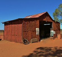 Outback Shed by Liz Worth