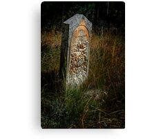 Eroded Memory (for RB Challenge) Canvas Print