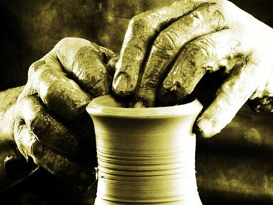 The Potters Hands.. by Berns