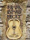 Frank Evans stone, Westbury-On-Trym, Bristol, UK by buttonpresser