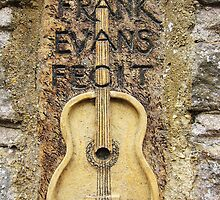 Frank Evans stone, Westbury-On-Trym, Bristol, UK by buttonpresser