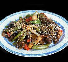 Asian Stir Fried Sea Cucumber & Veggies by heatherfriedman