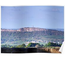 Crich From Alport Heights Poster