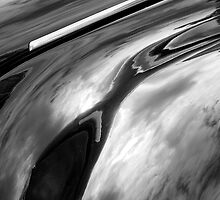 Vintage Voiture Clouds Abstract by ragman