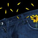 """Blue Jeans and Calendula"" by Michelle Lee Willsmore"