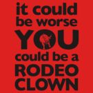 Rodeo Clown by Zach Wong