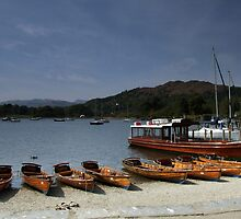 Windermere Boats by Paul  Green