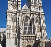 Westminster Abbey, London by Keith Larby