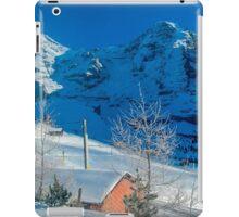 Eiger Winter Scene iPad Case/Skin