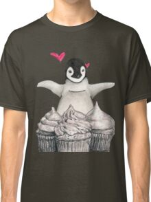 For the penguin and cupcake lover Classic T-Shirt