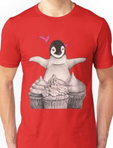 For the penguin and cupcake lover Unisex T-Shirt