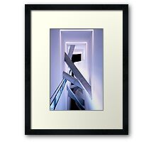 Something in the way Framed Print