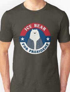 ICE BEAR FOR PRESIDENT. T-Shirt