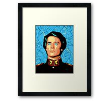 Atreides wih Sandworms  Framed Print