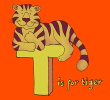 T is for Tiger by Sarah Trett