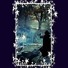 Expecto Patronum - white framed by scatharis