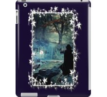 Expecto Patronum - white framed iPad Case/Skin