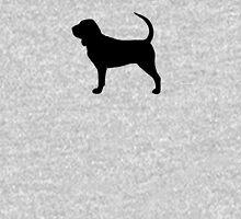 Bloodhound Silhouette Unisex T-Shirt