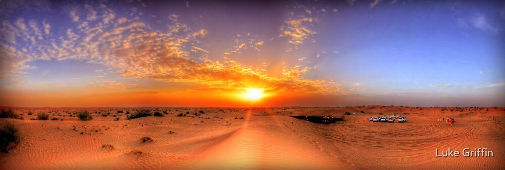 Dubai Desert HDR Panorama by Luke Griffin