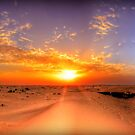 Dubai Desert HDR Panorama by Luke Griffin