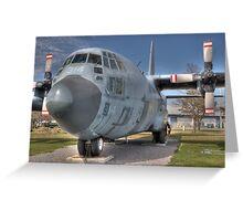 CC-130 Hercules Greeting Card