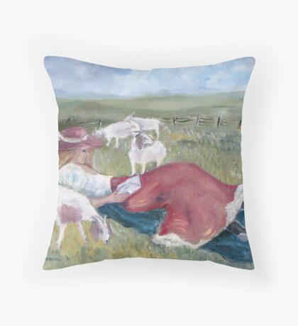 Sweet Sleep at Noon Throw Pillow