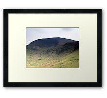 Robinson Crags Framed Print