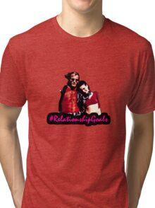 Mickey & Mallory Knox #RelationshipGoals Tri-blend T-Shirt