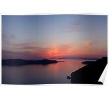 Santorini Serenity- Thira, Santorini Poster