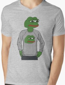 Pepe in pepe sweater Mens V-Neck T-Shirt