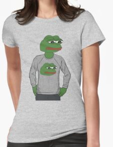 Pepe in pepe sweater Womens Fitted T-Shirt