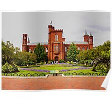 Smithsonian Castle, Washington DC, Poster