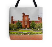 Smithsonian Castle, Washington DC, Tote Bag
