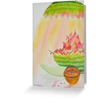 Melon Head Bar and Grill Greeting Card
