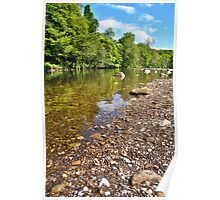 River Swale At Round How Poster