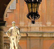 look in a roman courtyard by Scleridjane