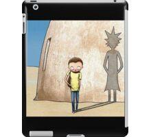 Morty Star Wars I version iPad Case/Skin